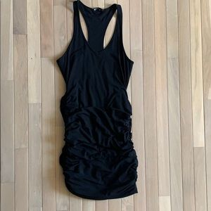 Express ruched dress size s